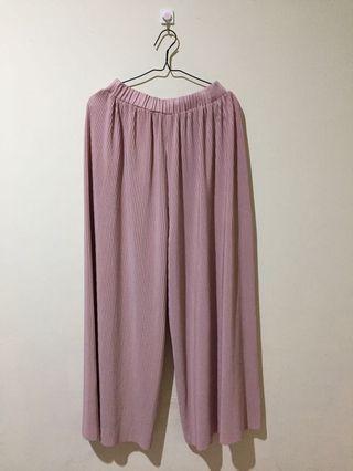 Celana Kulot Dusty Pink