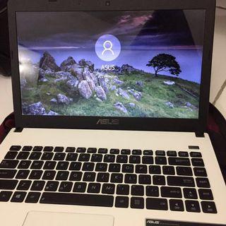 Laptop Asus Notebook / Slimbook X401U White