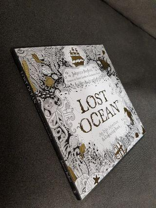 🚚 Lost Ocean Adult Colouring Book