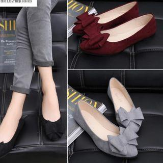 Pazzion inspr ribbon bow flats Shoes