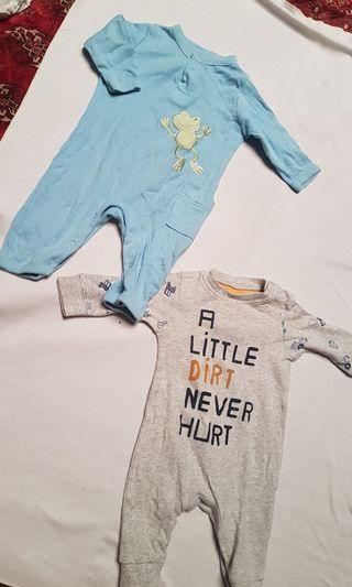 Mothercare and old navy newborn suit