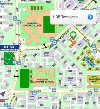 8 mins walk to Tampines East Mrt! (female only)