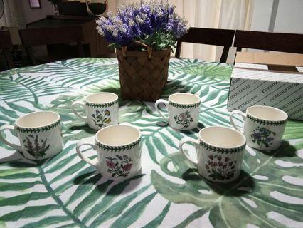 Portmeirion Botanic Garden Large Breakfast Mugs
