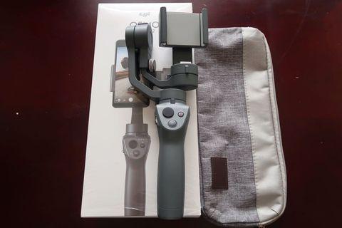 95%新 DJI Osmo Mobile 2 穩定器stabilizer 有原廠購買單 送布袋