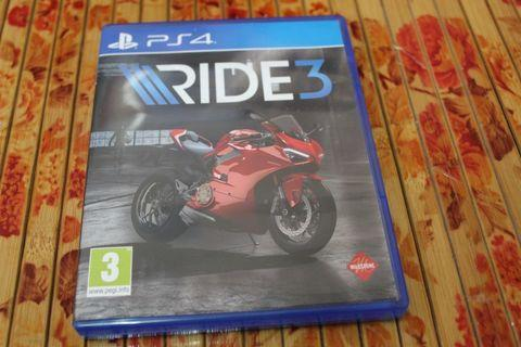 Ps4 Game ride 3