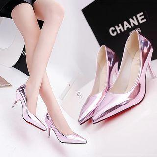 Pazzion inspr metallic Heels shoe