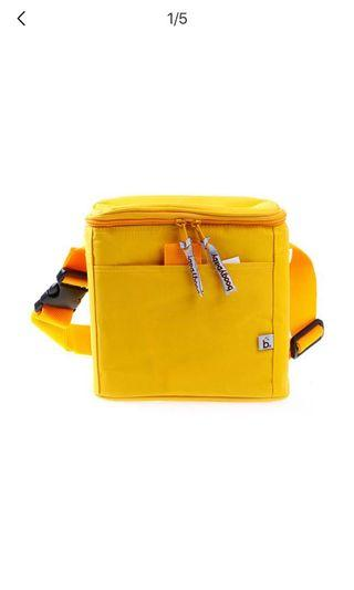 Boogy Baby Yellow Lunch Bag