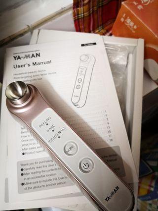 YA-MAN 超聲波毛孔清潔離子機 (HDS-30N-HK)