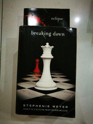 Breaking Dawn and Eclipse