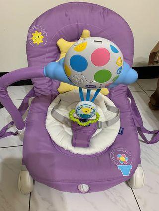 Chicco嬰兒搖椅 電動搖 音樂搖椅