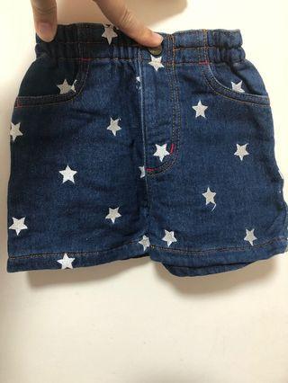 X Girl stage 牛仔褲