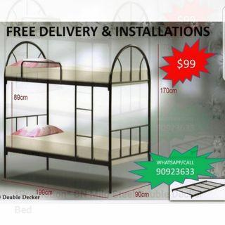 Brand new Double decker bed @ $99
