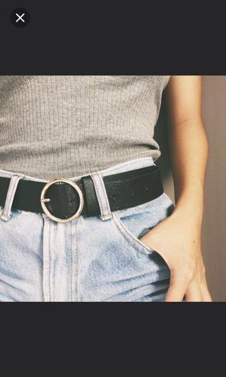 🚚 BN Instocks Circle Buckle Belt x7