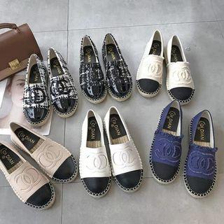 Chanell inspr espadrilles Loafers shoe