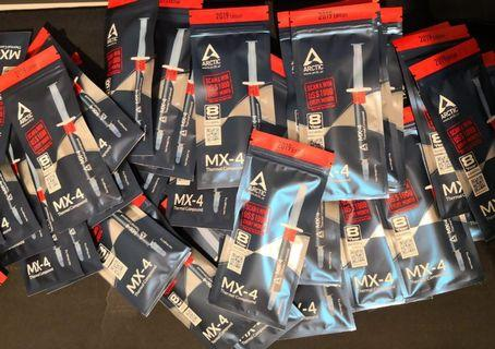 Arctic Cooling MX-4 4gm Retail Pack ( 2019 ) Carbon-Based Thermal Compound MX4 4g
