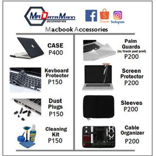 Macbook case and accessories for sale