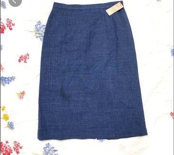 (3 for $12) Denim Midi Skirt