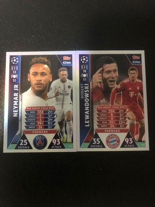 🚚 Match Attax UCL Group Stage MVP