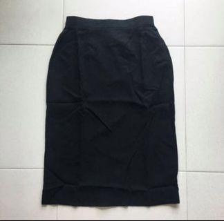 (3 for $12) Black Pencil Skirt