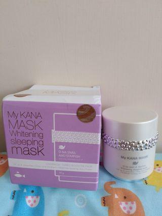 Kana Mask Whitening Sleeping Mask