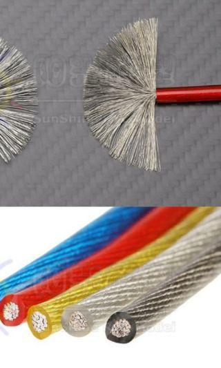 RC Cars 12AWG Wires for Esc and Electronic