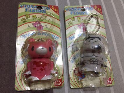 Gloomy the Bear and Stormtrooper Vibration Figures