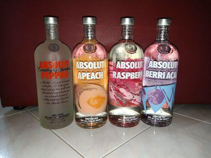 🚚 Absolut Vodka Limited Collection