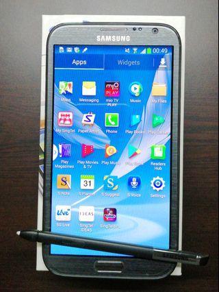 Samsung 4G Smartphone GT-N7105 Titanium Gray