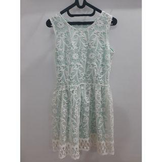 Toscha Dress with Lace Detail