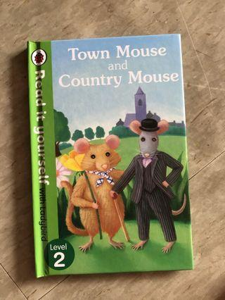 Ladybird-Town mouse and country mouse