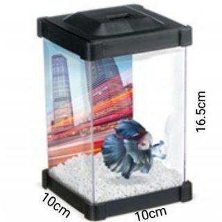 $7 Mini betta Plastic fish tank