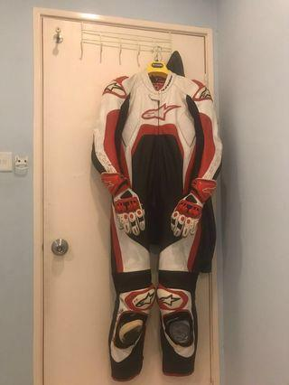 Racing suit alpinestar
