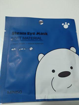 We bare bearFacial Mask/ steam eye mask