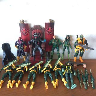 Marvel legends hydra redskull lot