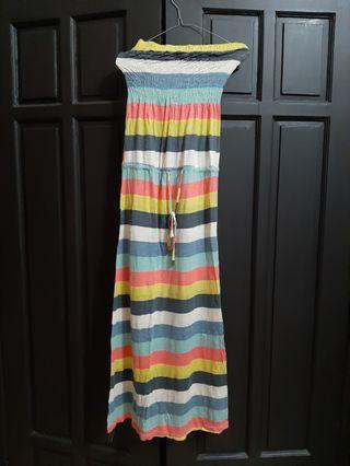 Rainbow Tube Dress