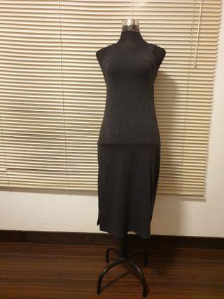 Slimfit Gray Dress