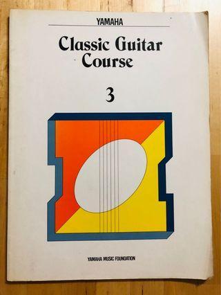 Yamaha Classical Guitar Course Book 3
