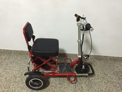 Mobot E-Scooter (Stainless Steel)