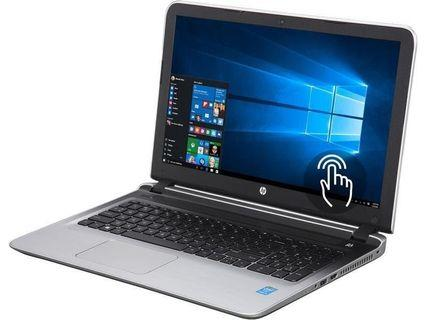 HP Pavilion touchscreen Core i3 5th Gen 5200U (2.0 GHz) 8GB RAM gaming laptop