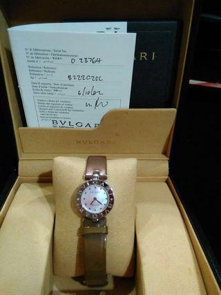 BVLGARI model ZERO white gold (certificate)