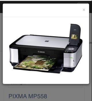 🚚 Canon Printer Pixma MP558