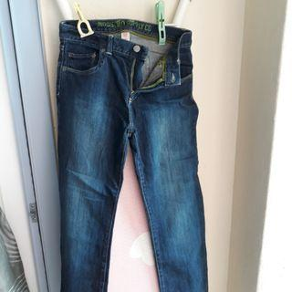 Mossimo Supply Jeans 1987. Size 16. Low Waist 30""
