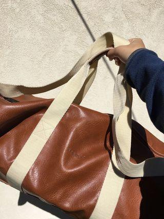 Leather Aramis duffel