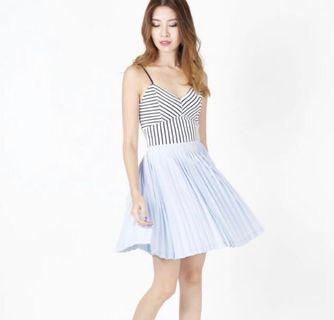 The Willow Label Blair Pleated Skirt
