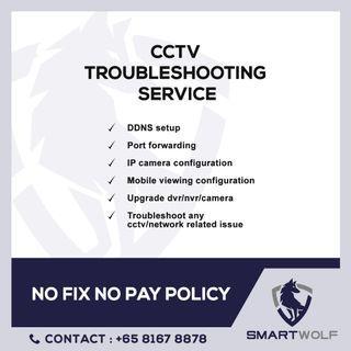 CCTV troubleshooting