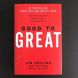 🚚 Good To Great: Why some companies make the leap and others don't