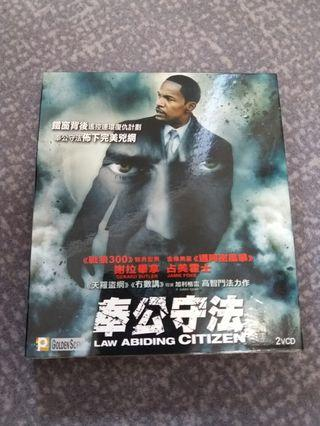 奉公守法 law abiding citizen Vcd thriller