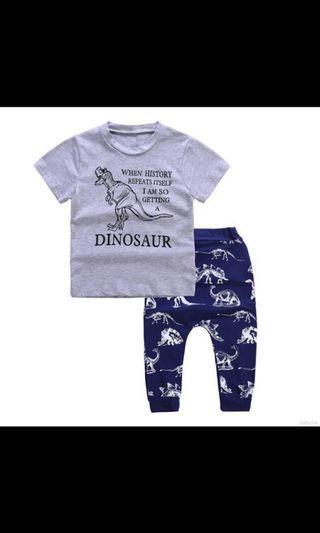 🚚 Dino Skeleton Set