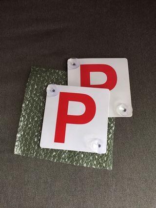 P牌 (反光物料) 1對 $30包郵