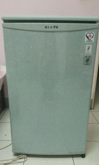 東元小鮮綠冰箱